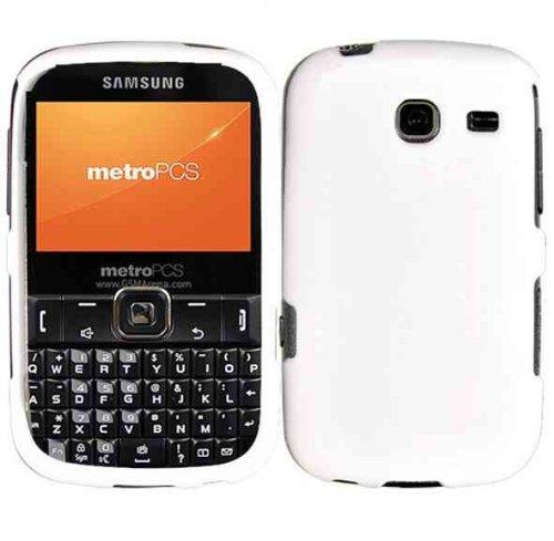For Straighttalk Samsung SCH-S380C S380C Hard Cover Case White Accessory (Samsung S380c compare prices)