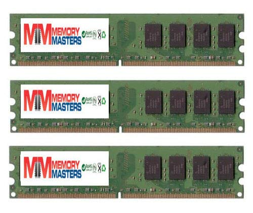 (MemoryMasters 8GB (4 x 2GB) DDR2 DIMM (240 PIN) AM2 667Mhz PC2 5400 / PC2 5300 for Gigabyte GA-M750SLI-DS4 8)