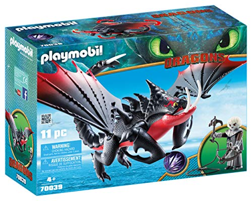PLAYMOBIL® How to Train Your Dragon III Deathgripper with Grimmel