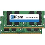 iRam (アイラム) iMac (Retina 5K, 27-inch, 2017) 増設メモリー PC4-19200 (DDR4-2400MHz) SO.DIMM (32GB (2×16GB))