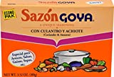 Goya Foods Sazon Coriander & Annatto, 3.52 Ounce (Pack of 18)