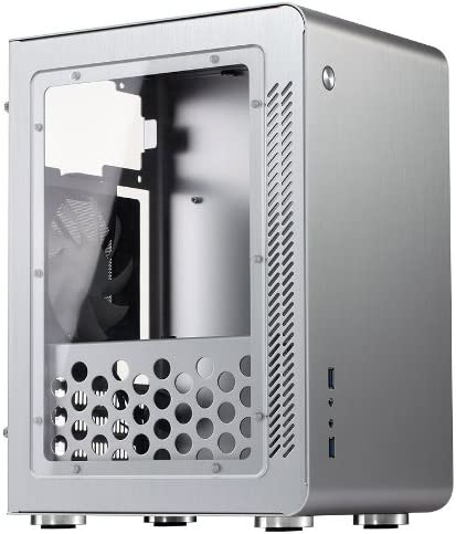Cooltek U3 Window HTPC Plata Carcasa de Ordenador - Caja de Ordenador (HTPC, PC, Aluminio, Micro-ATX,Mini-ITX, Plata, 1,5 mm): Amazon.es: Informática