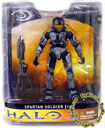 Halo 3 Mcfarlane Toys Series 1 Exclusive Action Figure STEEL Close Quarter Battle (CQB) Spartan]()