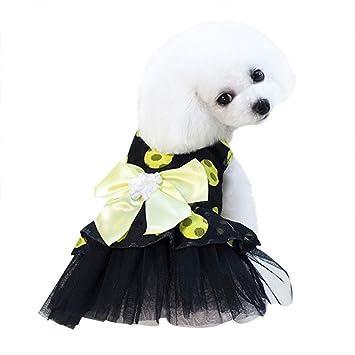 T.boys's Haustier Hundebekleidung Hunde Kleid Pet Dog Dress