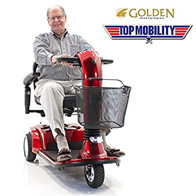 Companion II Golden Technologies GC340 Mobility Scooter Includes Challenger Cover & Rear Basket + 3-Year Extended Warranty