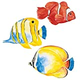 Wallies 12088 Tropical Fish Wallpaper Cutout