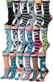 penguin pack - Tipi Toe Women's Ladies 18-Pairs Value Pack Penguin Cat Socks Panda Bear Novelty Animal Design Winter Socks, (sock size 9-11) Fits shoe size 5-9, WC64