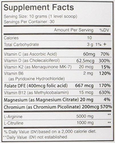 Fenix Nutrition - FNX L-Arginine Complete - Cardio Health Formula - Contains L-Citrulline - Enhance Effects Of Nitric Oxide - Secret Weapon For Libido - Mixed Berry - 3 Jars by Fenix Nutrition (Image #2)