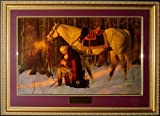 Brooklynart The Prayer At Valley Forge By Arnold Friberg Framed 34x25