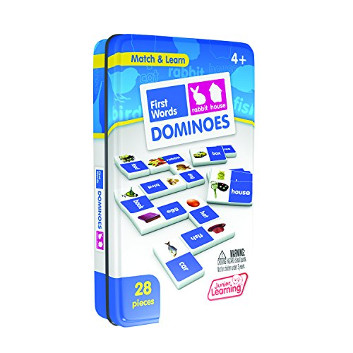 Junior Learning First Word Dominoes Educational Action Games