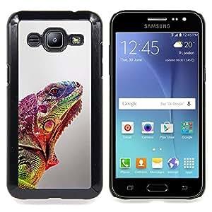 - gecko commando blurry lizard exotic - - Modelo de la piel protectora de la cubierta del caso FOR Samsung Galaxy J2 RetroCandy