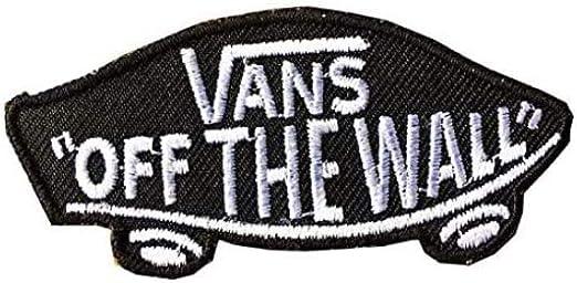 Aufnäher zum Aufbügeln, Motiv: Vans Off the Wall 8,5 cm