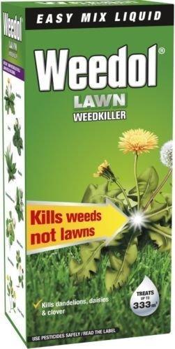 Weedol/Verdone Extra Lawn Weedkiller Kills Weeds 500ml Treats 333m2 Garden...