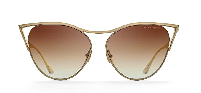 d3d3a595955 Dita Revoir DTS 509 Ladies Sunglasses in Brown lens with Gold brushed frame   Amazon.co.uk  Clothing