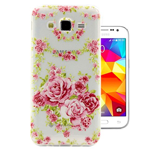 For Samsung Galaxy J2 Case   Ivencase Silicone Beautiful Rilievo Carved Ultra Slim Flexible Soft Tpu Thin For Samsung Galaxy J2 Sm J200f   One  Ivencase   Anti Dust Plug Stopper