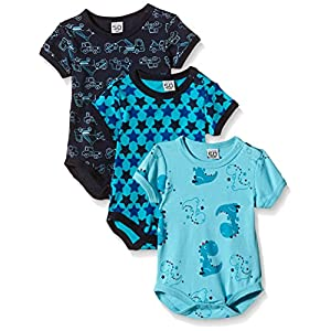 Amazon Exclusive: Care Baby Boys Bodysuits Shortsleeved 6er Packs and 3er Packs