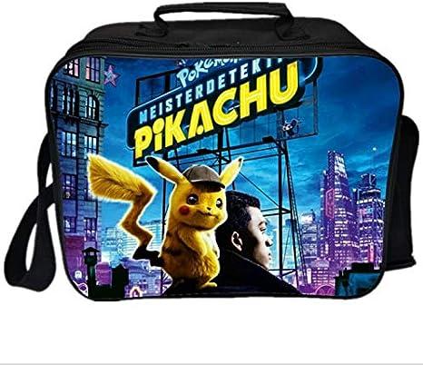 LIZHIOO Pokemon Lunch Bag Gengar Students Picnic Insulation Bag New Fresh Ice Pack Daily Funcional Pikachu Caja Térmica Aislada (Color : 10): Amazon.es: Deportes y aire libre