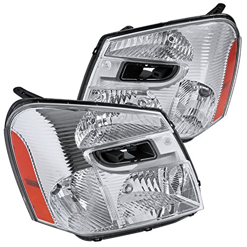 Chevy Equinox Replacement Clear Headlights Head Lights Driving Lamps ()