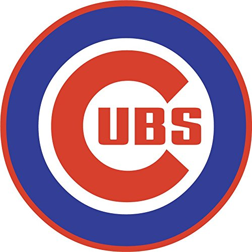 skyhighprint - Chicago Cubs MLB Baseball Decor Vinyl Print Sticker 12'' X 12'' (Cub Wall Decal)