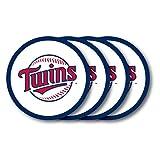 MLB Minnesota Twins Vinyl Coaster Set (Pack of 4)