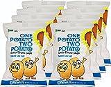 One Potato Two Potato, Naked Sea Salt Kettle Potato Chips, 2 oz (Pack of 8) For Sale