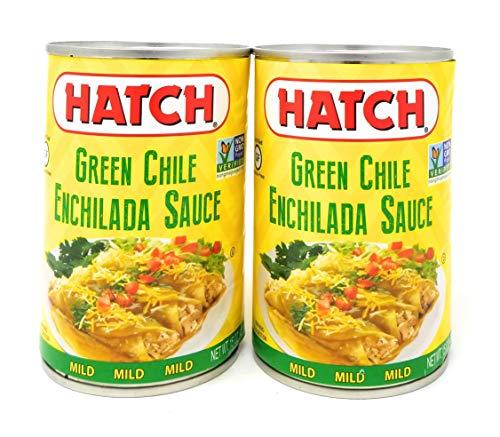 Hatch Green Chile Enchilada Sauce Mild Heat 15oz QTY 2