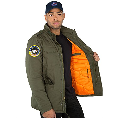 Nasa Industries Alpha Heritage M Jacket Dark Olive 65 vdgXwvx