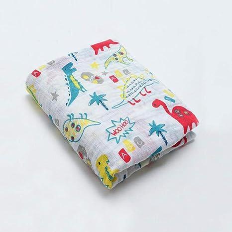 Paños De Muselina Molleton Pañales De Gasa De Bambú Suave De Algodón Eructo Para Su Bebé Paños De Gasa De Tela De Abrazo (37.4 In * 39.4 In)-Manta De Pañales 3: Amazon.es: Bebé