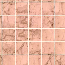 Melody Jane Dollhouse Miniature 1:12 Bathroom Kitchen Flooring Pink Marble Tile Sheet