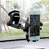 AlierKin Car Mount, Grip Pro 2 Dashboard Car Phone Universal Cradle Adjustable Windshield Holder ...