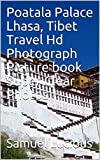 Poatala Palace Lhasa, Tibet Travel Hd Photograph Picture book Super Clear Photos