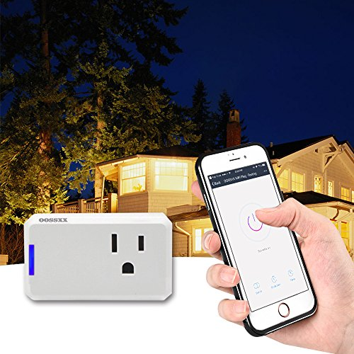 Superior Quality Mini Wifi-Enabled Smart Outlet By OOSSXX - No-Hub Wireless Plug - Compatible With Lights, Home Appliances - Remote Control With Smartphone/Tablet - Works W/Amazon Alexa by OOSSXX (Image #7)