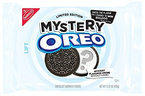 Oreo Limited Edition Sandwich Cookies, Mystery Chocolate, 15.25 Ounce ( 3 pack )