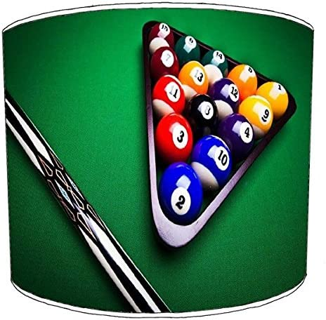 10 Inch Table Billiard, Pool, Snooker, 8 Ball Childrens Lampshade ...