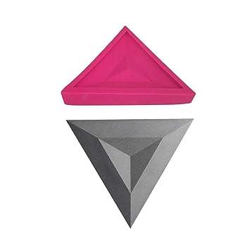 Fancylande Molde Ladrillos Silicona, losa de Muro de Cemento Molde de Silicona Fondo de Yeso TV Decorativa plâtrage Pared, Colorful, B: Amazon.es: Hogar