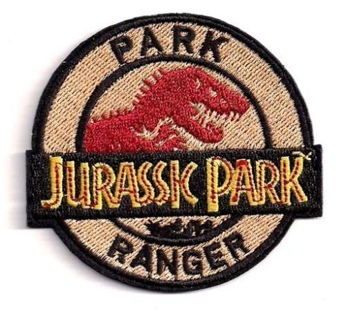 Jurassic Park Movie - Park Ranger with T-Rex (Size: 3