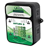Titan Controls 702851 Saturn 5 Digital Environmental Controller with Carbon Dioxide Gas Timer