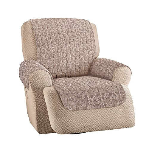Pattern Quilted Furniture Protector Recliner