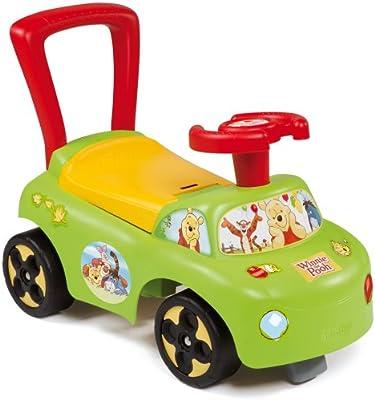 SMOBY Winnie the Pooh 2-in-1 correpasillos y andador, para niños a ...