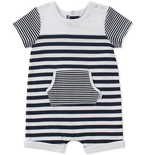absorba Baby Romper Boys, Navy 6-9 Months