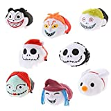 Disney Tim Burtons Mini Tsum Tsum The Nightmare Before Christmas Set - Jack Skellington, Sally, Zero, Sandy Claws, Barrel, Shock, Lock, Vampire Teddy(Japan Import)