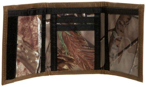 John Deere Leather 3 Fold Camouflage Camo Wallet Tri-Fold Credit Card Logo NEW