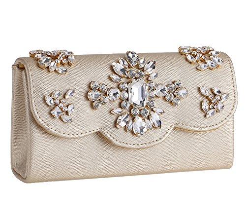 Gold Jeweled Bag - 7