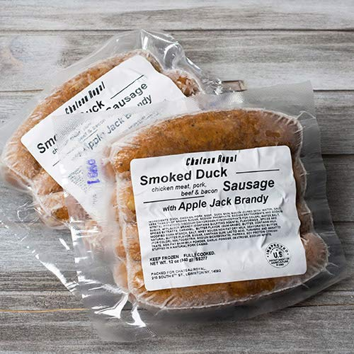 Smoked Duck with Apple Brandy Sausages by Chateau Royal Twin-Pack (24 ounce)
