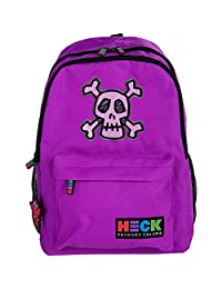 Ed Heck EH701-17B-SKL 17-Inch Backpack, Skull, International Carry-On