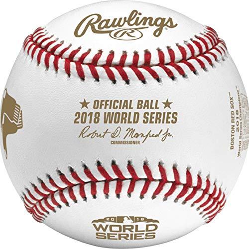 Sox 2018 Official MLB World Series Champions Baseball - Boxed ()