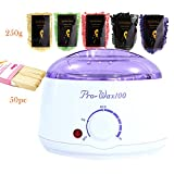Urberry Electric Wax Warmer with 5 Packs Hard Wax Beans and 50 Applicator Sticks Home Waxing Kit Review