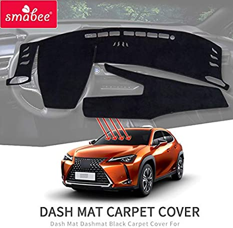 Cocoa 71879-00-26 Covercraft Custom Fit Dash Cover for Select Lexus HS250h Models Velour