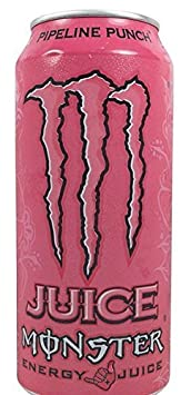 Monster Energy, Juice Pipeline Punch, 16 Oz Pack of 24