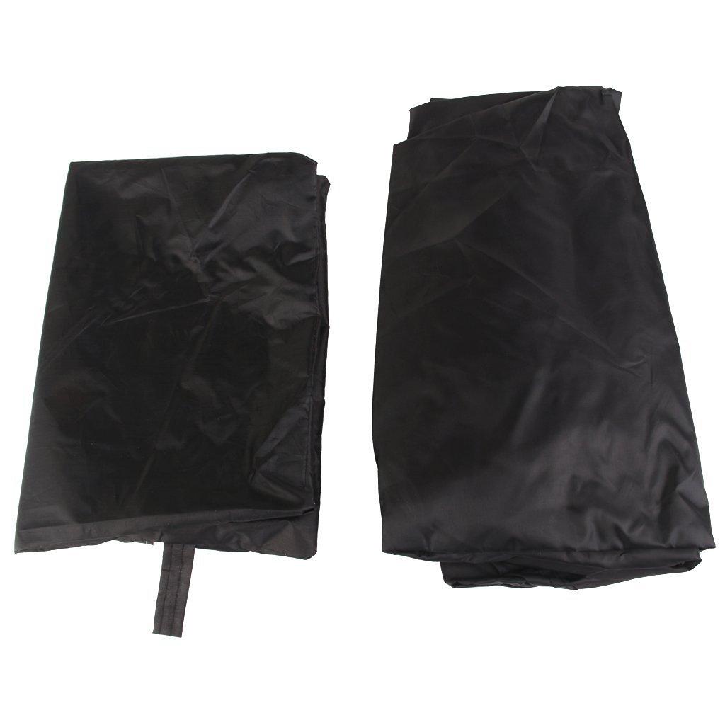 Noir Heelinna ext/érieur /étanche BBQ Housse barbecue grill Protector
